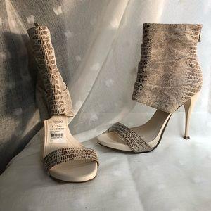 BCBGeneration snakeskin heels